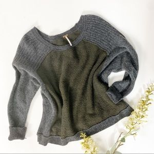 Free People Cozy Wool Cotton & Cashmere Sweater